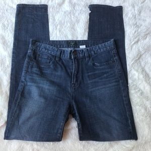 J Crew high rise stretch skinny jeans size 28 S